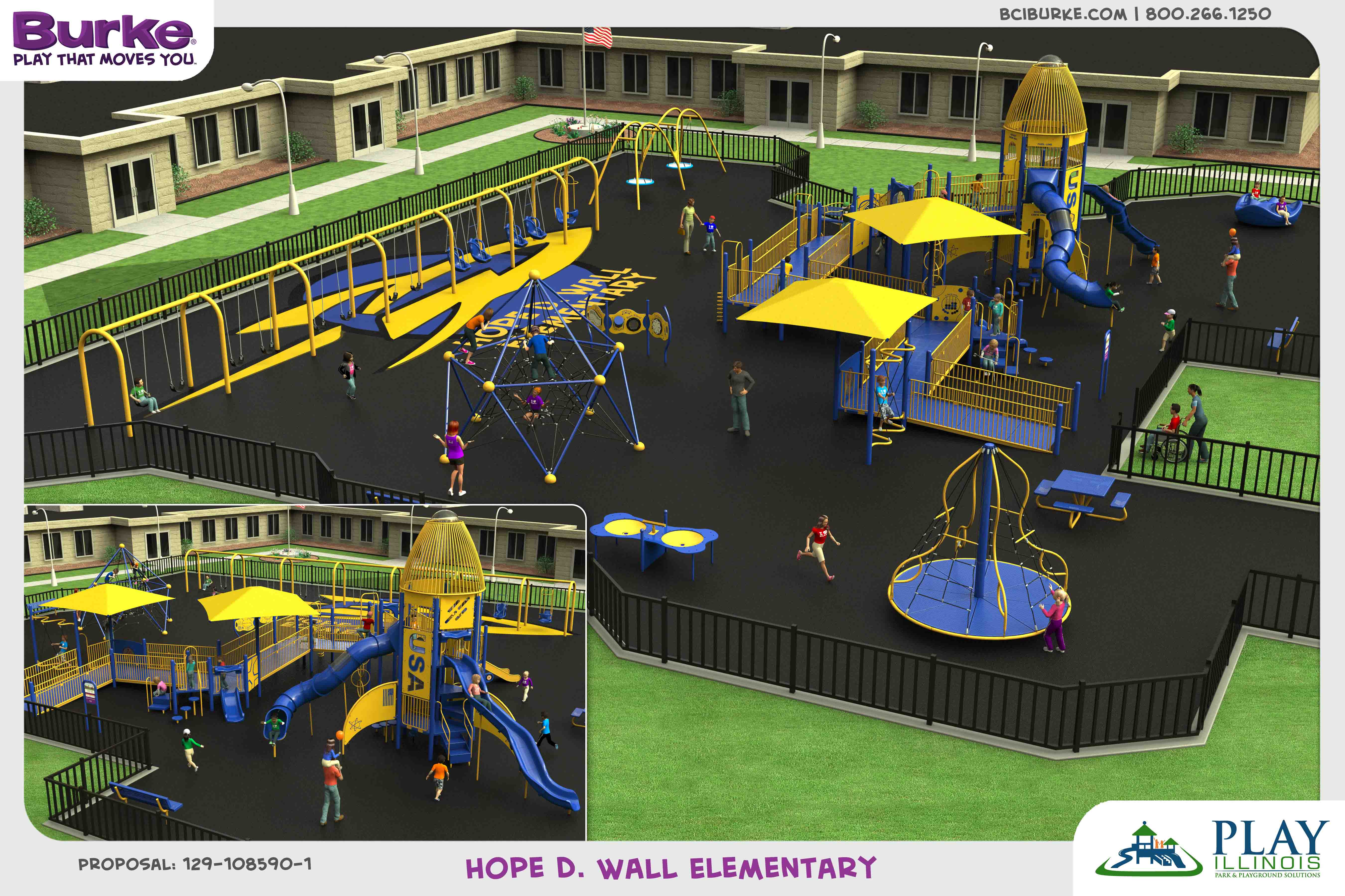 HopeDWall dream build play experience accessible playgrounds