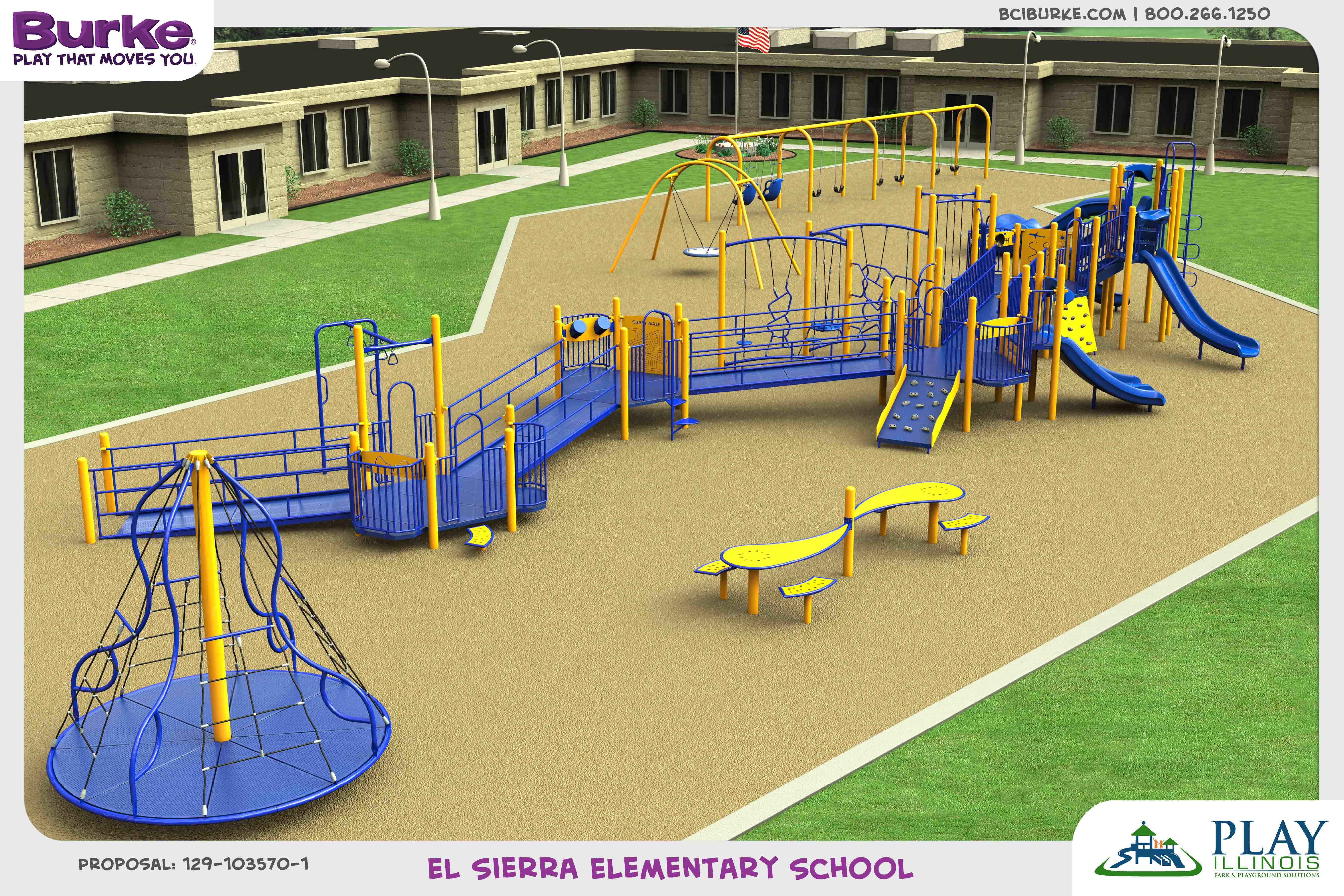 ElsierraElementary dream build play experience accessible playgrounds