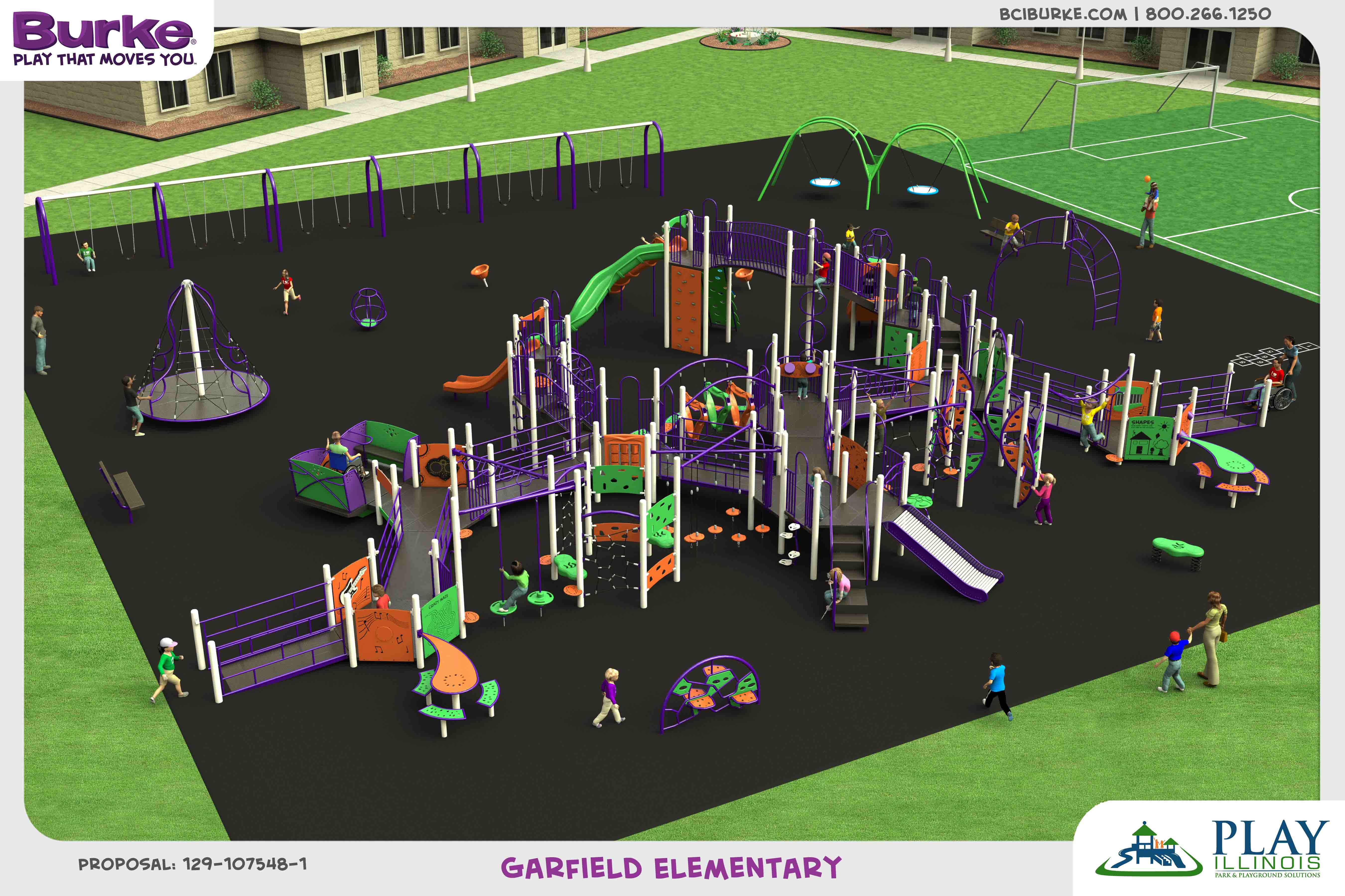 GarfieldElementary dream build play experience accessible playgrounds