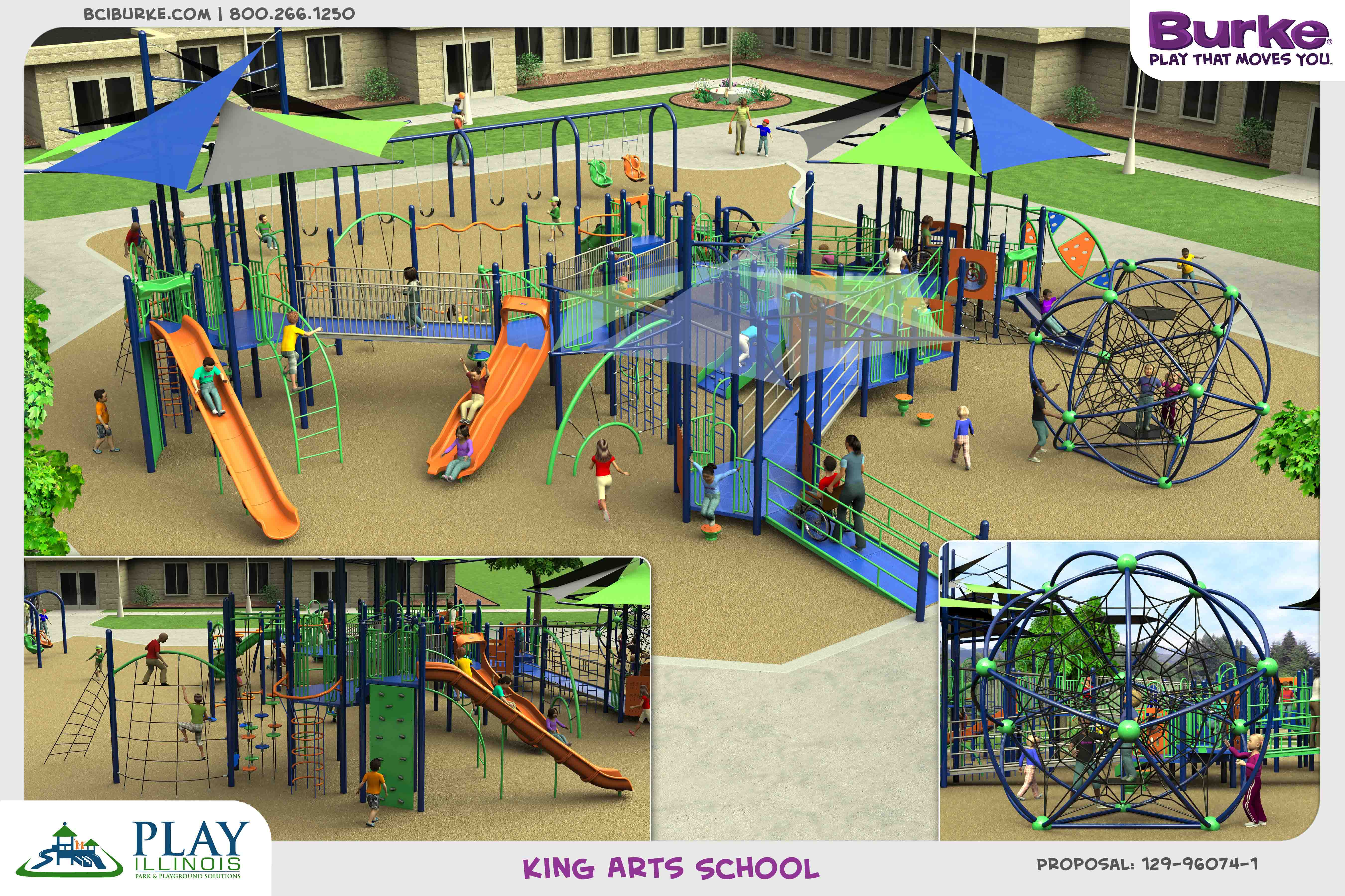 KingArtsSchool dream build play experience accessible playgrounds